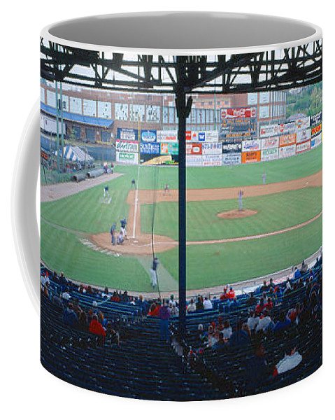 Photography Coffee Mug featuring the photograph Bill Meyer Stadium, Aa Southern League by Panoramic Images