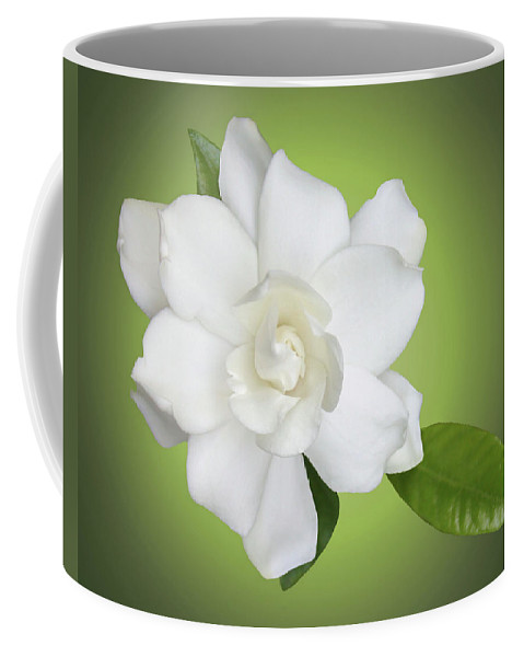 Gardenia Coffee Mug featuring the photograph Billie's Flower by Kristin Elmquist