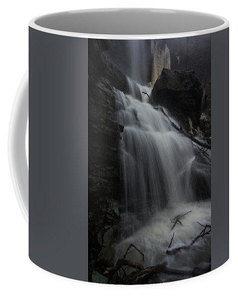 Canada Coffee Mug featuring the photograph Billy Green Falls by David Hook