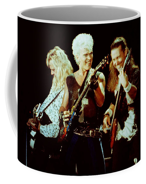 Billy Idol Coffee Mug featuring the photograph Billy Idol 90-2294 by Gary Gingrich Galleries