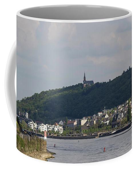 Ehrenfels Castle Coffee Mug featuring the photograph Bingen Germany by Teresa Mucha