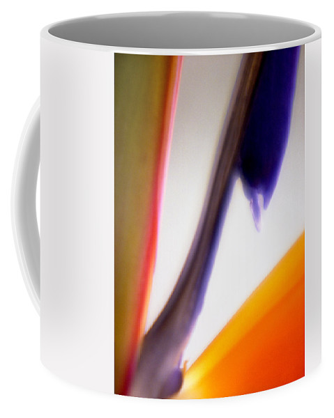 Macro Coffee Mug featuring the photograph Bird Of Paradise by Lee Santa