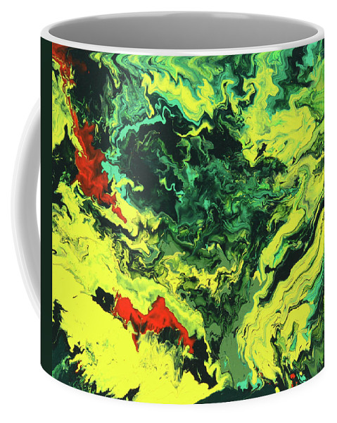 Fusionart Coffee Mug featuring the painting Bird Of Paradise by Ralph White