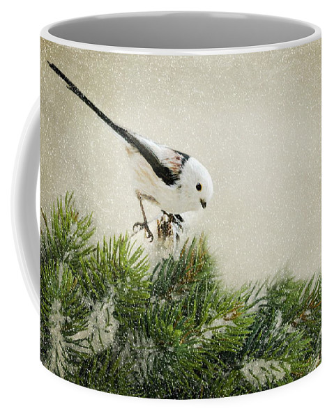 Edel Coffee Mug featuring the photograph Birdie Stilllife by Heike Hultsch