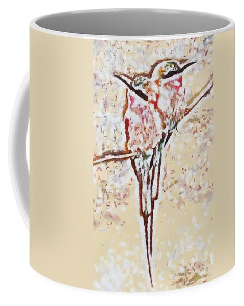 Bird's Views Coffee Mug featuring the digital art Bird's Views by Catherine Lott