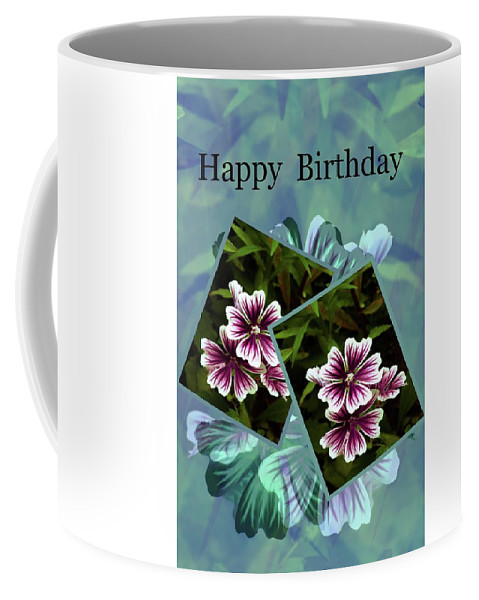 Card Coffee Mug featuring the photograph Birthday Card by Sherman Perry