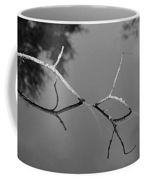 Black And White Coffee Mug featuring the photograph Black And White Bridge by Rob Hans