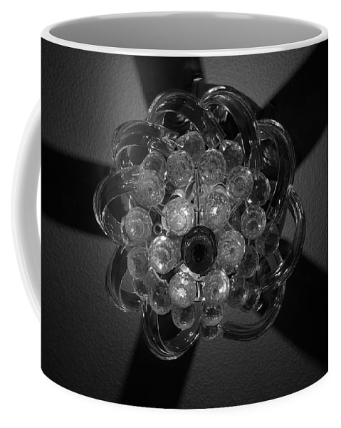 Fan Coffee Mug featuring the photograph Black And White Crystal by Rob Hans