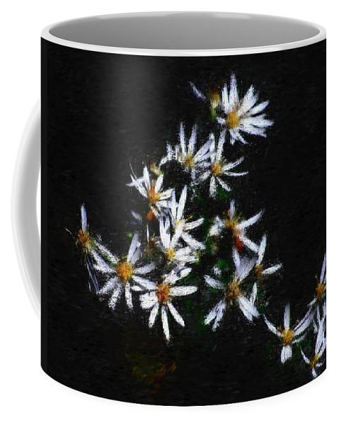 Digital Photograph Coffee Mug featuring the digital art Black And White Study II by David Lane