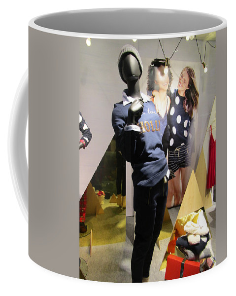 Mannequins Coffee Mug featuring the photograph Black Beauty by Rosita Larsson