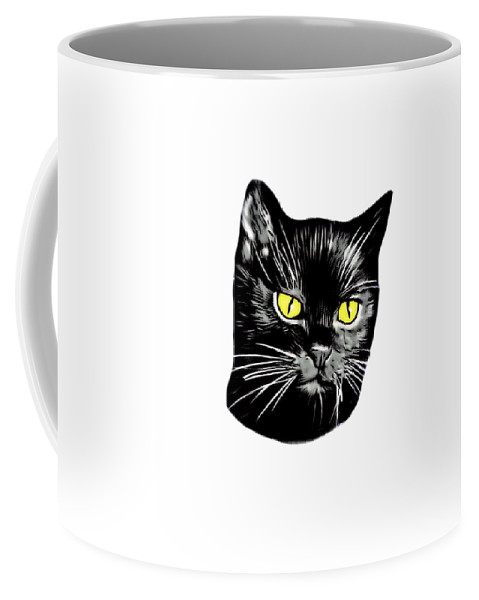Black Cat Molly Coffee Mug For Sale By Thomas Schmidt