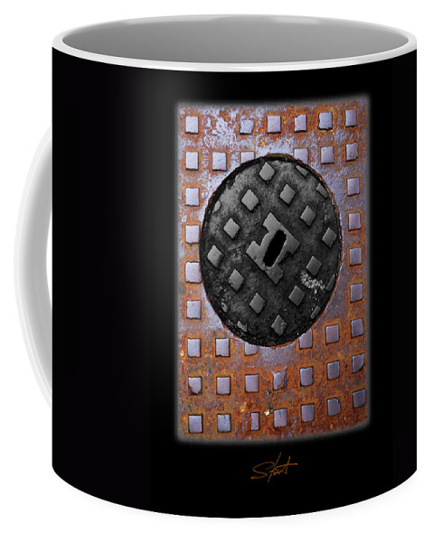 Heavy Metal Coffee Mug featuring the photograph Black Diamond by Charles Stuart
