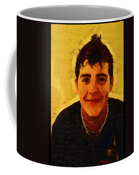 Beautiful Black Children Coffee Mug featuring the photograph Young Black Male Teen 4 by Ginger Wakem