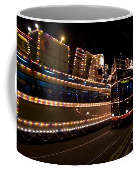 Blackpool Illuminations Coffee Mug featuring the photograph Blackpool Illuminations by Angel Ciesniarska