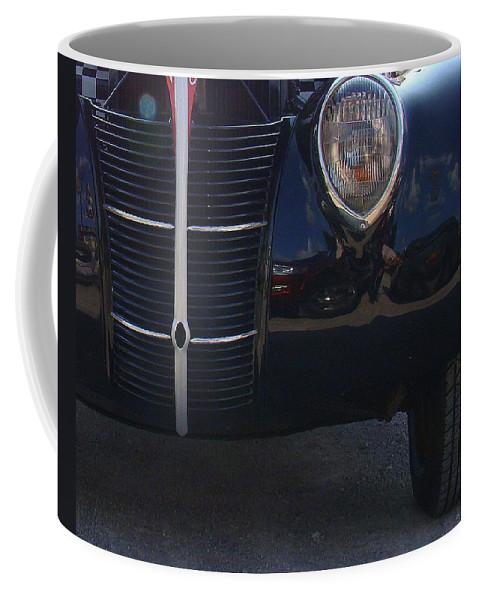 Photography Coffee Mug featuring the photograph Blacktop Cruiser by J R Seymour