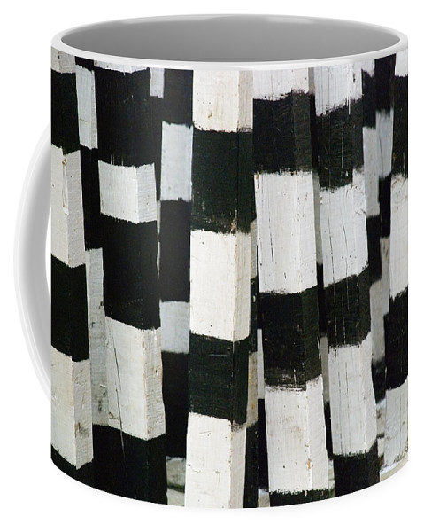 Skip Hunt Coffee Mug featuring the photograph Blanco Y Negro by Skip Hunt