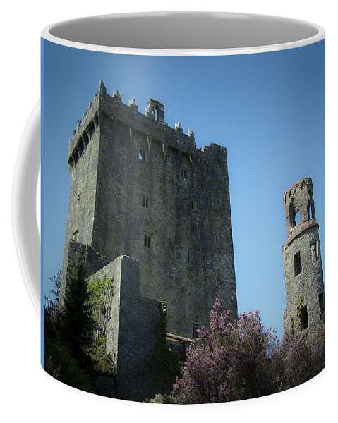 Irish Coffee Mug featuring the photograph Blarney Castle And Tower County Cork Ireland by Teresa Mucha