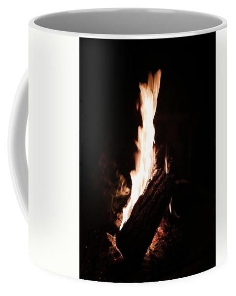 Fire Coffee Mug featuring the photograph Blaze by Eloviano Maya