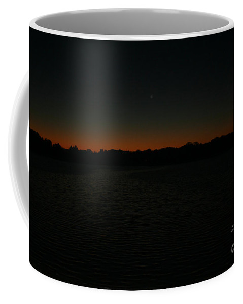 Sunset Coffee Mug featuring the photograph Blazing by Jamie Lynn