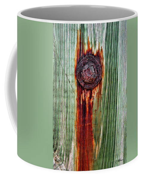 Bolt Coffee Mug featuring the photograph Bleeding Bolt by Christopher Holmes