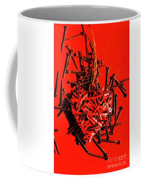 Loss Coffee Mug featuring the photograph Bleeding Hearts by Jorgo Photography - Wall Art Gallery