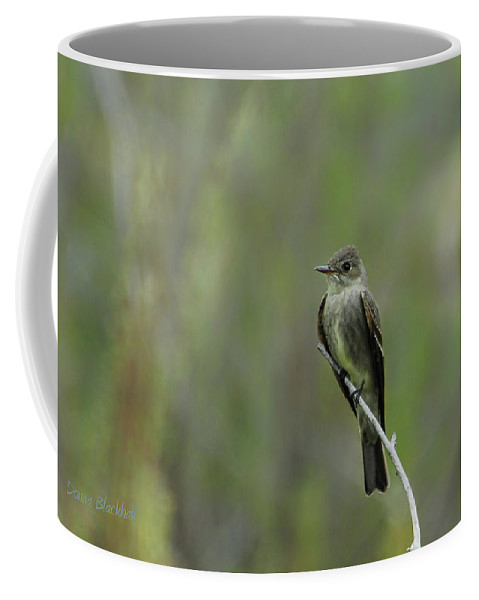 Bird Coffee Mug featuring the photograph Blending In by Donna Blackhall