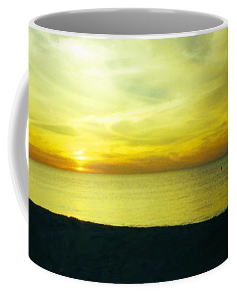 Sunset Coffee Mug featuring the photograph Bliss by Jean Haynes