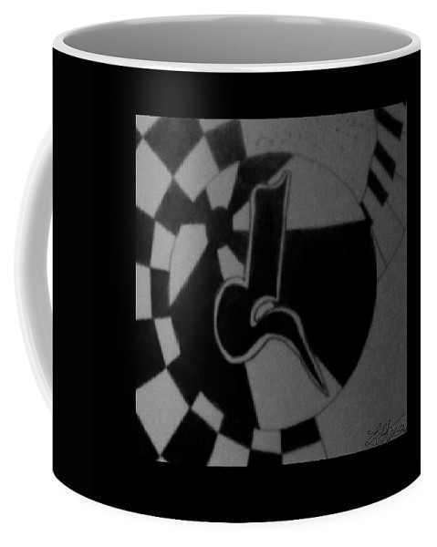 Abstract Coffee Mug featuring the photograph Blondeass Sunshine by Rob Hans