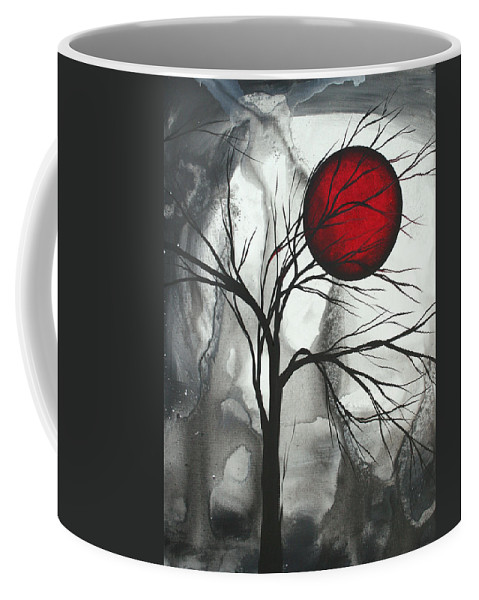 Huge Coffee Mug featuring the painting Blood Of The Moon 2 By Madart by Megan Duncanson