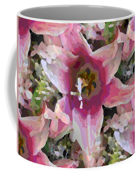 Coffee Mug featuring the digital art Blooming Beauty by Tim Allen