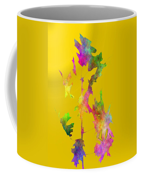 Fall Coffee Mug featuring the digital art Blowin In The Wind 5 by Tim Allen