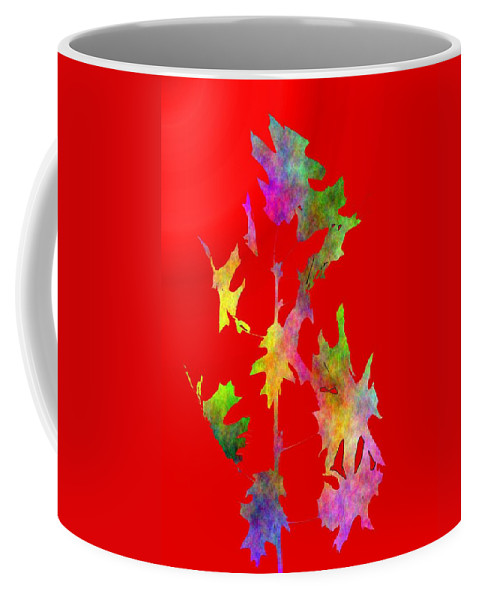 Fall Coffee Mug featuring the digital art Blowin In The Wind 6 by Tim Allen