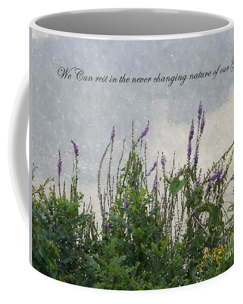 Nature Coffee Mug featuring the photograph Blowing In The Breeze by Sara Raber