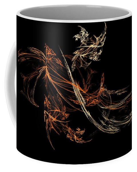 Fantasy Coffee Mug featuring the digital art Blowing In The Wind by David Lane