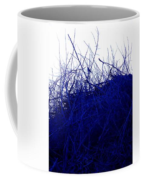 Splatter Coffee Mug featuring the photograph Blue Bird by M Pace