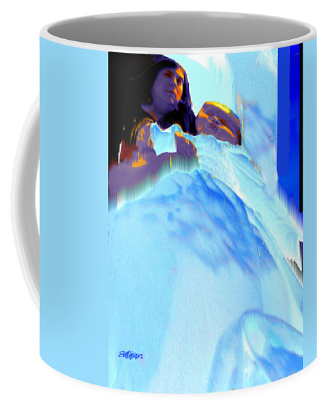 Baby Coffee Mug featuring the photograph Blue Blanket by Seth Weaver