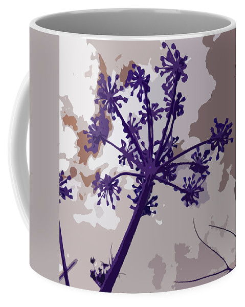 Flower Coffee Mug featuring the photograph Blue Flower by James Hill