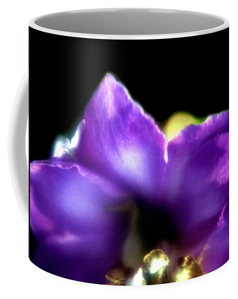 Flower Coffee Mug featuring the photograph Blue Flower by Lee Santa