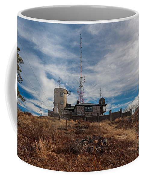Blue Hills Weather Observatory Coffee Mug featuring the photograph Blue Hill Weather Observatory 2 by Brian MacLean