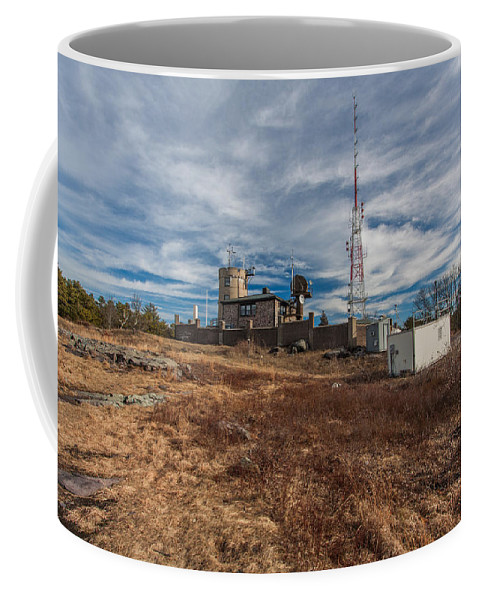 Blue Hills Weather Observatory Coffee Mug featuring the photograph Blue Hill Weather Observatory by Brian MacLean