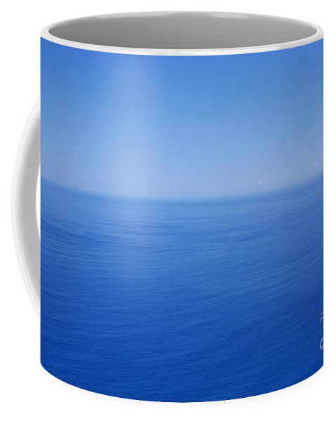 Tranquility Coffee Mug featuring the photograph Blue Horizon by Gaspar Avila