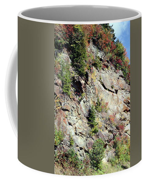 Mountain Coffee Mug featuring the photograph Blue Ridge Mountain by Shirley Roberson