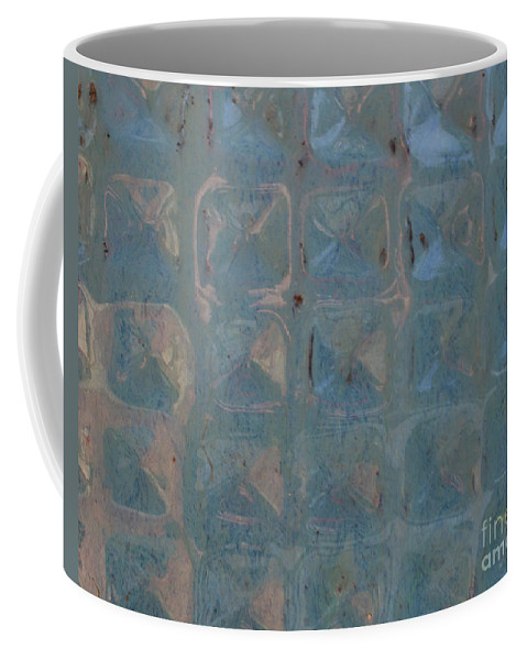 Coffee Mug featuring the photograph Blue Vase by Mark Stephens