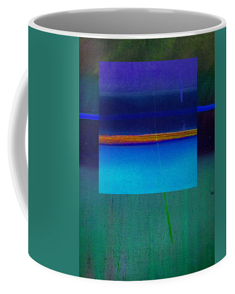 Landscape Coffee Mug featuring the painting Blue Water by Charles Stuart