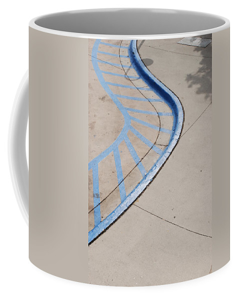 Blue Coffee Mug featuring the photograph Blue Zone by Rob Hans