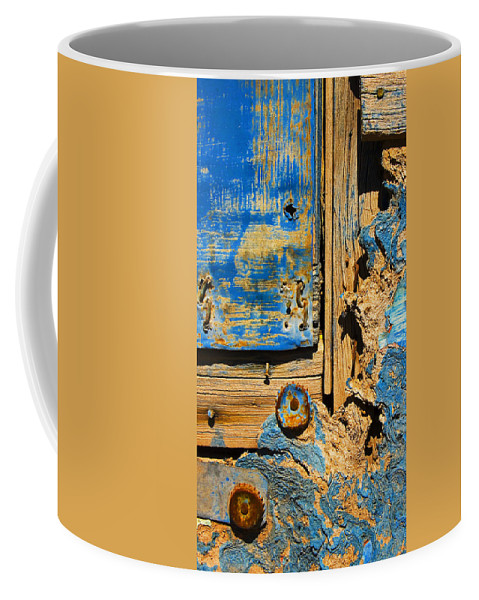 Abstract Coffee Mug featuring the photograph Blues Dues by Skip Hunt