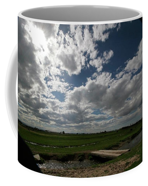 Lanscape Coffee Mug featuring the photograph Bluesky by Patrick Craig
