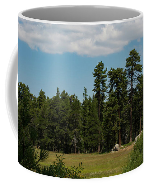 Landscape Coffee Mug featuring the photograph Bluff Lake Ca 7 by Chris Brannen