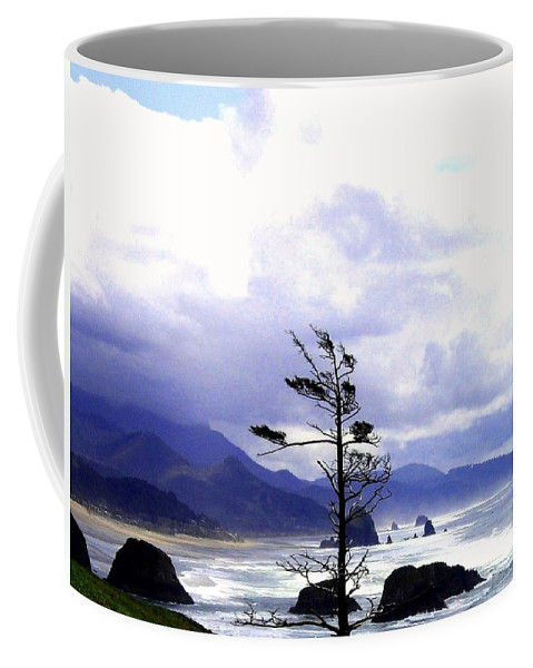Blustery Coffee Mug featuring the photograph Blustery by Will Borden