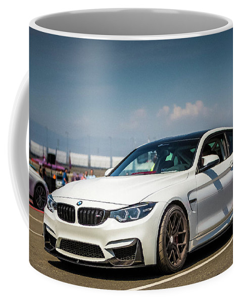Bmw Coffee Mug featuring the photograph Bmw M4 F82 by Christian Flores